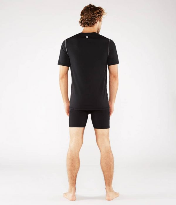 Manduka Yoga-Shirt CROSS TRAIN TEE BLACK schwarz für Männer 7