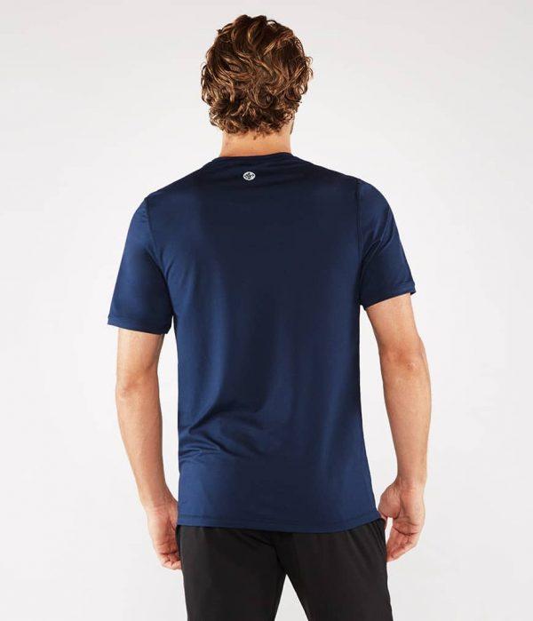 Manduka Yoga-Shirt CROSS TRAIN TEE MIDNIGHT blau für Männer 4