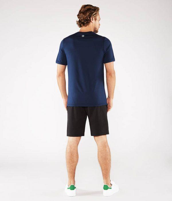 Manduka Yoga-Shirt CROSS TRAIN TEE MIDNIGHT blau für Männer 6