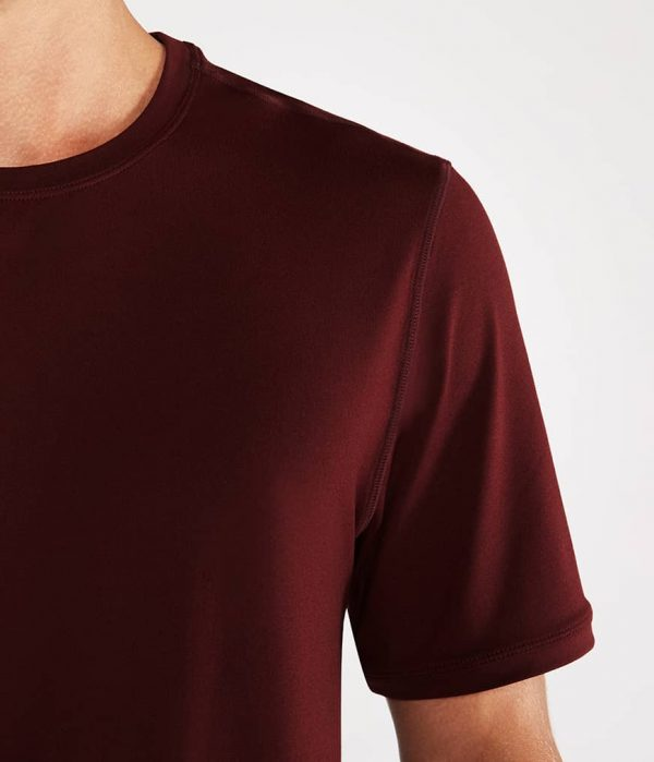 Manduka Yoga-Shirt CROSS TRAIN TEE PORT dunkel-rot für Männer 3