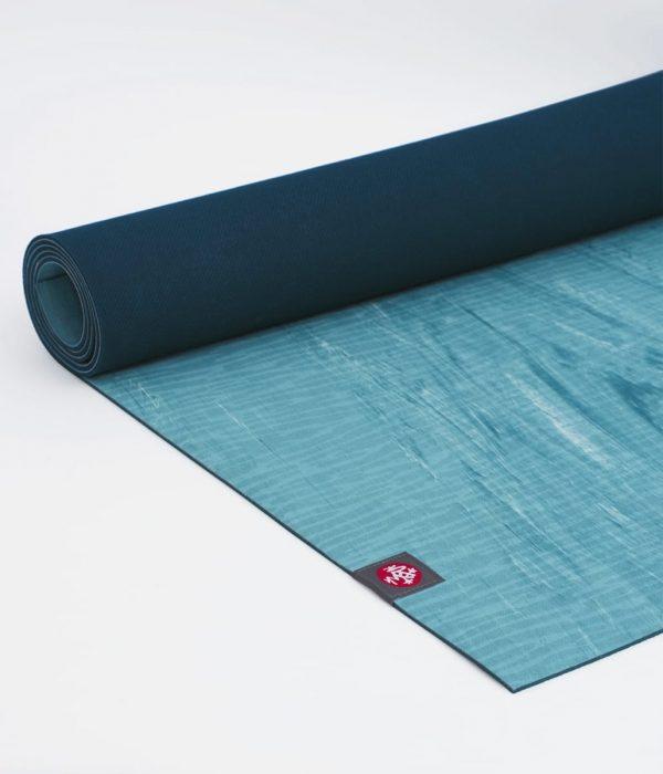 Manduka eKO Lite Atoll Yogamatte 4mm - Blau Marmoriert